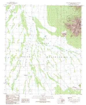 Santa Rosa Mountains Sw topo map