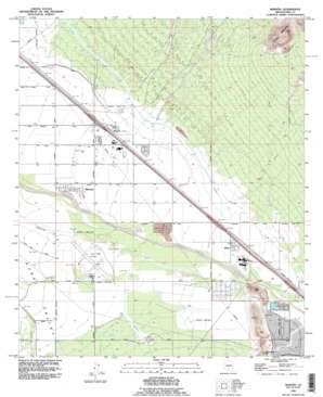 Marana USGS topographic map 32111d2
