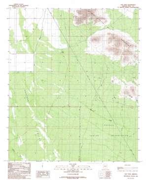 Gap Tank topo map