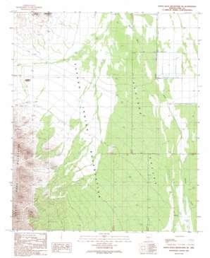Santa Rosa Mountains Ne topo map