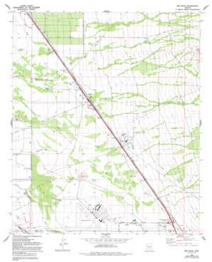 Red Rock USGS topographic map 32111e3