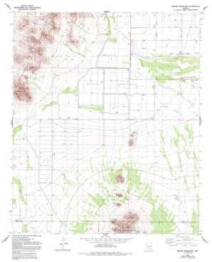 Greene Reservoir topo map