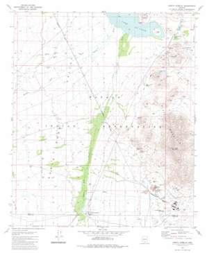 North Komelik topo map