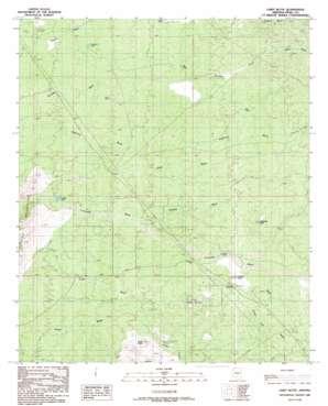 Chief Butte topo map