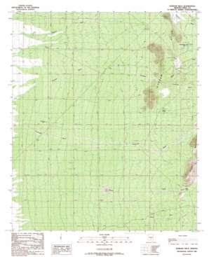 Durham Hills topo map