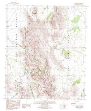 Mount Ajo topo map
