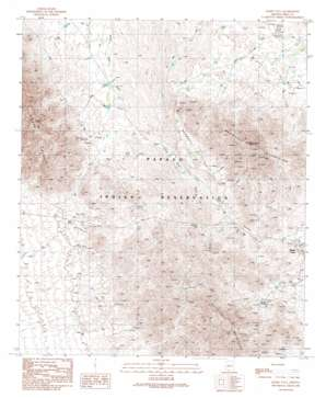 Maish Vaya topo map