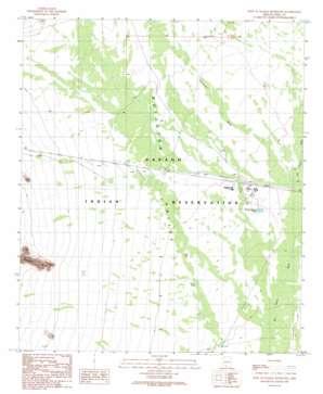 West Of Wahak Hotrontk topo map