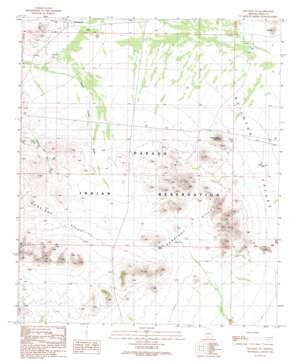 Hotason Vo topo map