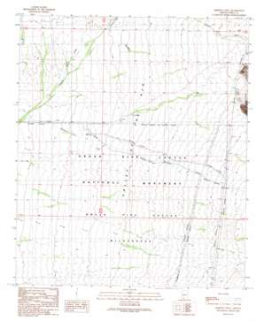 Armenta Well topo map