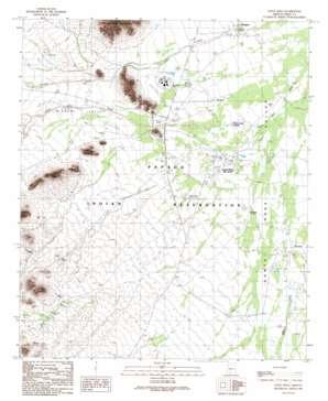 Gu Achi topo map