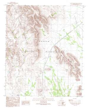 Gakolik Mountains USGS topographic map 32112c5