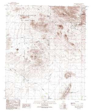 Chico Shunie topo map