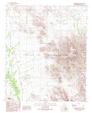 Cimarron Peak USGS topographic map 32112d4