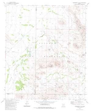 Copperosity Hills topo map