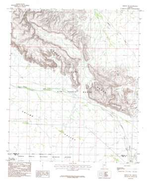Midway Sw topo map