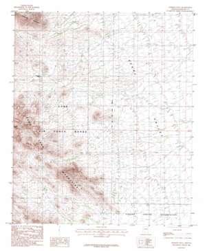Johnson Well topo map