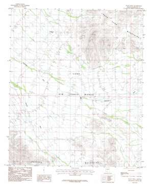 Platt Well topo map