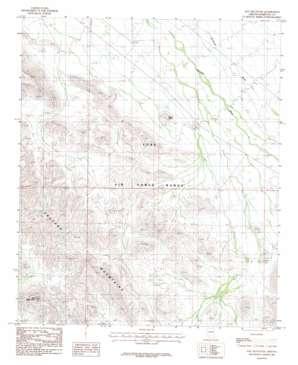 Hat Mountain topo map