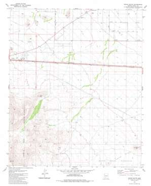 Indian Butte topo map