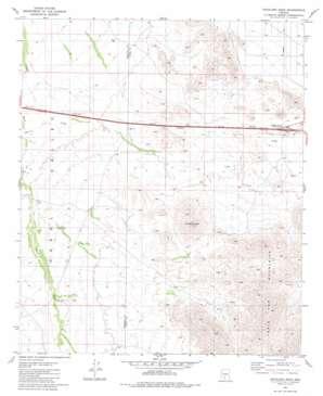 Antelope Peak topo map