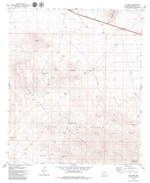 Big Horn topo map