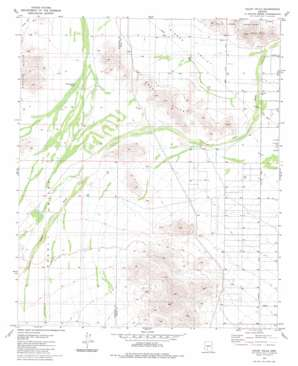Haley Hills USGS topographic map 32112h2
