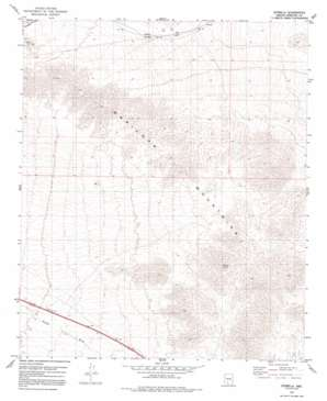Estrella topo map