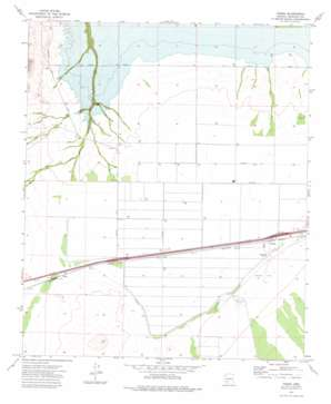 Theba USGS topographic map 32112h8