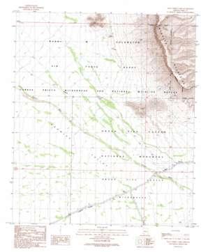 Palo Verde Camp topo map