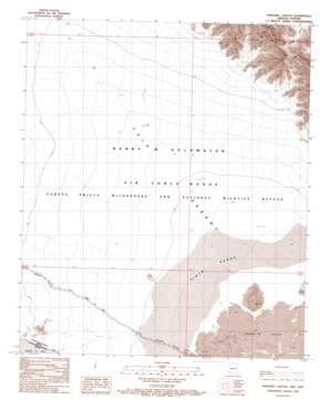 Paradise Canyon USGS topographic map 32113b5