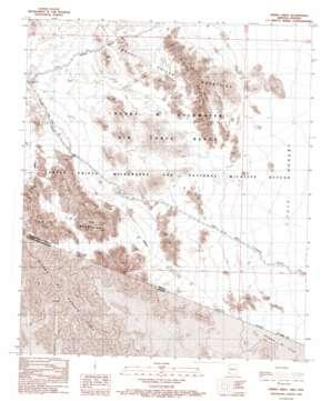 Sierra Arida USGS topographic map 32113b6