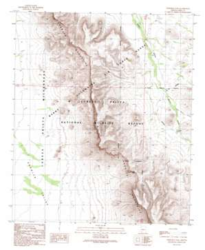 Temporal Pass USGS topographic map 32113c1