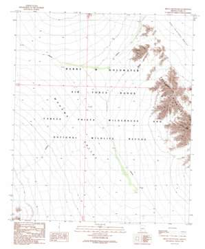 Bryan Mountains topo map