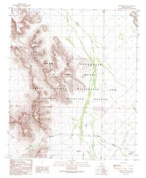 Growler Peak USGS topographic map 32113d1