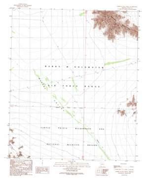 North Of Isla Pinta topo map