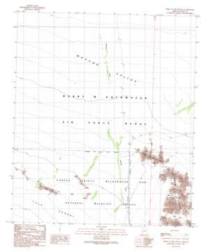 Point Of The Pintas USGS topographic map 32113d6