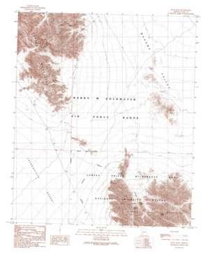 Buck Peak topo map