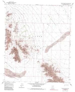 Mohawk Mountains Se USGS topographic map 32113e5