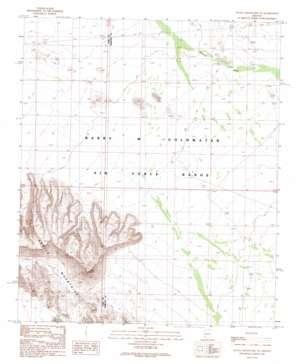 Aguila Mountains NE USGS topographic map 32113f3