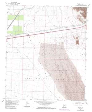 Mohawk topo map
