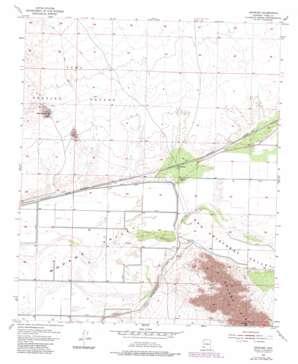Growler topo map