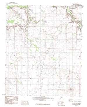 Sentinel Peak topo map
