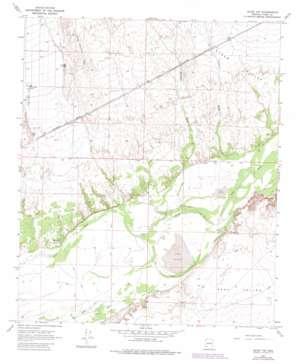 Aztec Nw topo map