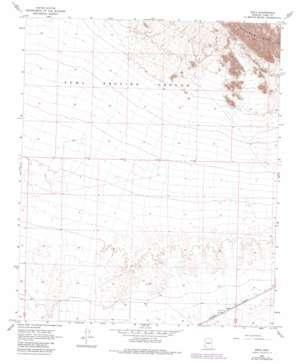 Kofa topo map