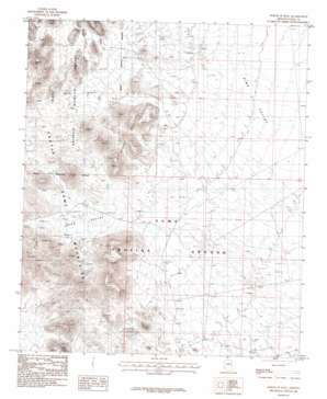 North Of Roll topo map