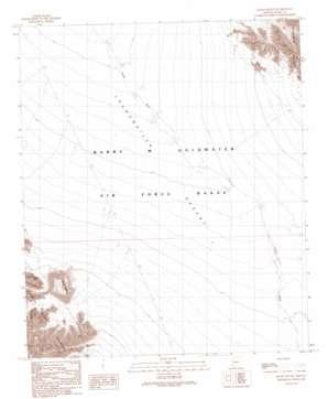 Raven Butte topo map