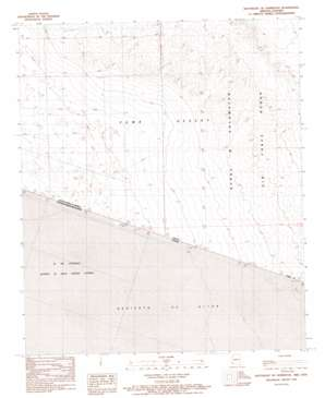 Southeast Of Somerton topo map