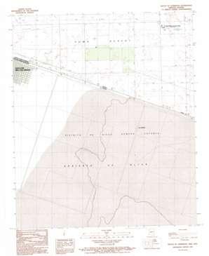South Of Somerton topo map
