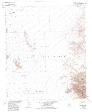 Wellton Se topo map
